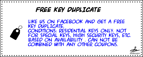 free duplicate key coupon MS